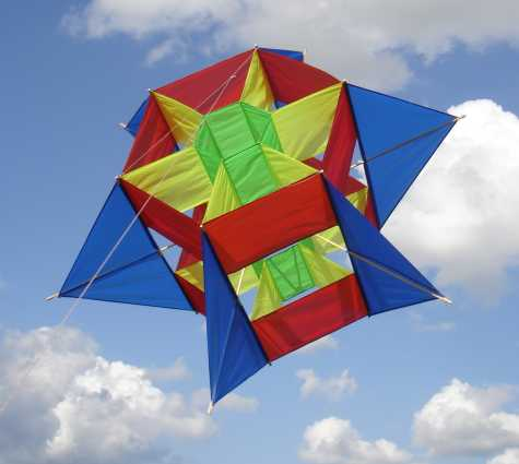 Waldof Box Kite Plans